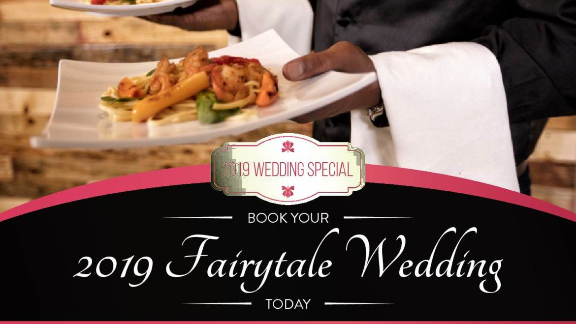 Book Your Fairytale Wedding Today!